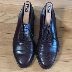 Bally Brown Dress Shoes
